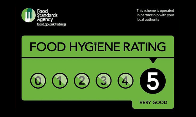 Food Standards Agency 5 Star Food Hygiene Rating